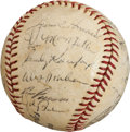 Autographs:Baseballs, 1964 Los Angeles Dodgers Team Signed Baseball....