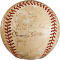 Autographs:Baseballs, 1941 New York Yankees Team Signed Baseball. ...