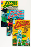 Silver Age (1956-1969):Science Fiction, Flying Saucers #1-5 File Copies Group (Dell, 1967-69) Condition: Average VF/NM.... (Total: 5 Comic Books)