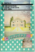 Books:Periodicals, June 1983 Oversize Issue of Metropolis Magazine, with aFocus on the Suburbs. Pen notes to front wrapper. Handli...