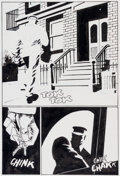 Original Comic Art:Panel Pages, Frank Miller Sin City: Hell and Back #4 Page 4 Original Art(Dark Horse, 1999)....