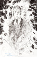 Original Comic Art:Covers, Jim Lee The Sandman: Overture #1 Alternate Cover OriginalArt Cover (Vertigo, 2013)....