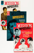Silver Age (1956-1969):Adventure, Mission: Impossible #1-3 File Copies Group (Dell, 1967) Condition: Average VF+.... (Total: 7 Comic Books)
