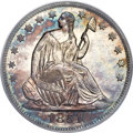 Seated Half Dollars, 1851-O 50C MS66 PCGS. CAC. WB-101, Die Pair 4, R.3....