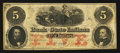 Obsoletes By State:Indiana, Lafayette, IN - Bank of the State of Indiana $5 Jan. 2, 1857. ...