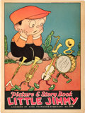 Platinum Age (1897-1937):Miscellaneous, Little Jimmy Picture & Story Book #284 (McLoughlin Bros., Inc.,1932) Condition: VF....