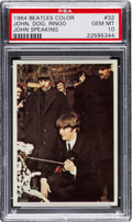 Non-Sport Cards:Singles (Post-1950), 1964 Topps Beatles Color Photos #32 PSA Gem MT 10 - Pop One!...