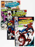 Modern Age (1980-Present):Superhero, The Amazing Spider-Man Short Box Group (Marvel, 1987-1998)Condition: Average NM....