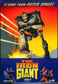 "Movie Posters:Animation, The Iron Giant (Warner Brothers, 1999). One Sheet (27"" X 41"") DSAdvance. Animation.. ..."
