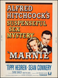 "Movie Posters:Hitchcock, Marnie (Universal, 1964). Poster (30"" X 40""). Hitchcock.. ..."