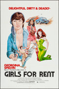 """Movie Posters:Sexploitation, Girls for Rent (Independent International Pictures, 1974). OneSheets (9) (27"""" X 41""""). Sexploitation.. ... (Total: 9 Items)"""