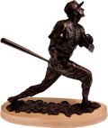 Baseball Collectibles:Others, 1999 Stan Musial Bronze Statue by Sculptor Who Created Busch Stadium Statue. ...