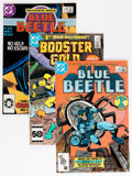 Modern Age (1980-Present):Superhero, Blue Beetle and Booster Gold Short Box Group (DC, 1986-88)Condition: Average NM....