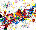 Post-War & Contemporary:Contemporary, SAM FRANCIS (American, 1923-1994). Bright Saddle, 1985.Acrylic on canvas. 36 x 42 inches (91.4 x 106.7 cm). Signed with...