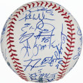 Autographs:Baseballs, 2010 Atlanta Braves Team Signed Baseball (39 Signatures!)....