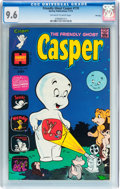 Bronze Age (1970-1979):Cartoon Character, Friendly Ghost Casper #170 File Copy (Harvey, 1973) CGC NM+ 9.6Off-white to white pages....
