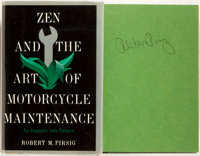 Robert M. Pirsig. SIGNED. Zen and the Art of Motorcycle Maintenance. An Inquiry Into Values