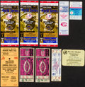 Baseball Collectibles:Tickets, 1940 -1995 Baseball Ticket Lot Of 10....