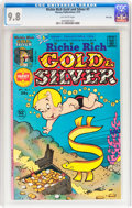 Bronze Age (1970-1979):Cartoon Character, Richie Rich Gold and Silver #1 File Copy (Harvey, 1975) CGC NM/MT9.8 Off-white pages....