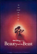 "Movie Posters:Animation, Beauty and the Beast & Other Lot (Buena Vista, 1991). OneSheets (2) (27"" X 40"" & 27"" X 41"") DS Regular & Advance.Animation... (Total: 2 Items)"