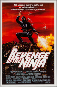 """Revenge of the Ninja & Other Lot (Cannon, 1983). One Sheets (2) (27"""" X 41""""). Action. ... (Total: 2 Items)"""