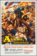 "Movie Posters:Western, The Alamo (United Artists, 1960). One Sheet (26.5"" X 41""). Western.. ..."