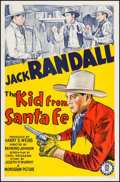 "Movie Posters:Western, The Kid from Santa Fe (Monogram, 1940). One Sheet (26.75"" X41.25""). Western.. ..."