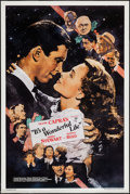 "Movie Posters:Fantasy, It's a Wonderful Life (Killian Enterprises, R-1990). One Sheet (27""X 41"") SS. Fantasy.. ..."