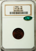 Proof Indian Cents, 1896 1C PR66 Red and Brown NGC. CAC....