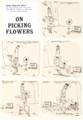 "Original Comic Art:Panel Pages, Don Martin MAD #46 One-Page Story ""On Picking Flowers""Original Art (EC, 1959)...."
