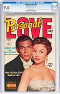 Golden Age (1938-1955):Romance, Personal Love #30 (Famous Funnies, 1954) CGC VF/NM 9.0 Off-white towhite pages....