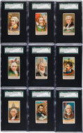 "Non-Sport Cards:Sets, 1888 N76 Duke ""Great Americans"" Complete Set (50). ..."