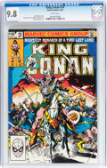 Modern Age (1980-Present):Miscellaneous, King Conan #16 (Marvel, 1983) CGC NM/MT 9.8 White pages....