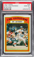 Baseball Cards:Singles (1970-Now), 1972 Topps Carl Yastrzemski IA #38 PSA Gem Mint 10....