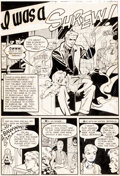 Original Comic Art:Panel Pages, Harry Harrison and Wally Wood Popular Teen-Agers #14 Page 7Original Art (Star, 1952)....