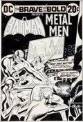 Original Comic Art:Covers, Nick Cardy The Brave and the Bold #103 Batman and the Metal Men Cover Original Art (DC, 1972)....
