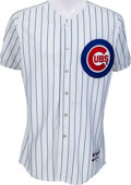 Baseball Collectibles:Uniforms, 2004 Sammy Sosa Game Worn Chicago Cubs Jersey, Cubs Team Letter. ...
