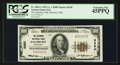 National Bank Notes:Maryland, Salisbury, MD - $100 1929 Ty. 1 The Salisbury NB Ch. # 3250. ...
