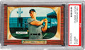 Baseball Cards:Singles (1950-1959), 1955 Bowman Mickey Mantle #202 PSA Mint 9....