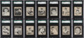 Baseball Cards:Singles (1940-1949), 1948 Bowman Baseball SGC Graded Collection (14). ...