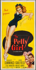 "Movie Posters:Comedy, The Petty Girl (Columbia, R-1955). Three Sheet (41"" X 80"").Comedy.. ..."