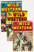 Golden Age (1938-1955):Western, Wild Western Group (Atlas/Marvel, 1950-57) Condition: AverageVG+.... (Total: 27 Comic Books)