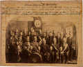 Political:Small Paper (pre-1896), Grover Cleveland: Mounted Albumen of 1888 Parade Marchers....