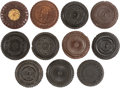 Photography:Tintypes, Early Photography: Eleven Oreo Cases.... (Total: 11 Items)