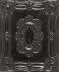 Photography:Ambrotypes, Early Photography: Cased Half Plate Ambrotype....