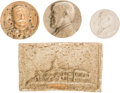 Political:Miscellaneous Political, Macerated Currency: Four Scarce Historical Subjects.... (Total: 4 Items)