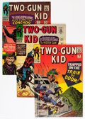 Silver Age (1956-1969):Western, Two-Gun Kid Group (Marvel, 1966-95) Condition: Average FN/VF....(Total: 50 Comic Books)