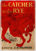 Books:Literature 1900-up, J. D. Salinger. The Catcher in the Rye. Little, Brown andCompany, 1951. Book Club Edition. Octavo. Publisher's ...