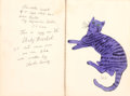 Prints, ANDY WARHOL (American, 1928-1987). 25 Cats Name(d) Sam and One Blue Pussy, circa 1954. Complete set of eighteen offset l...