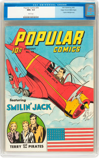 Popular Comics #78 Mile High pedigree (Dell, 1942) CGC NM+ 9.6 White pages
